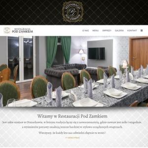 Strona www Pod Zamkiem